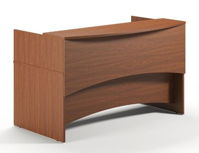 "Picture of 72"" Laminate Reception Desk Workstation"