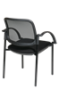 Picture of Screen Back and Mesh Seat Visitor's Chair with Arms
