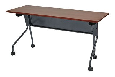"Picture of 24"" x 60"" Mobile Nesting Training Table with Modesty Panel"