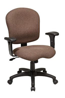 Picture of Sculptured Task Chair with Adjustable Arms