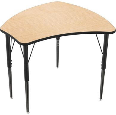 Picture of Shaped Student Desking