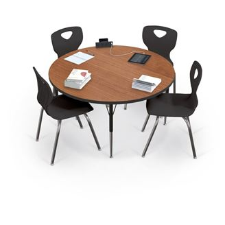 """Picture of  42""""W x 42""""D Round Study Table"""