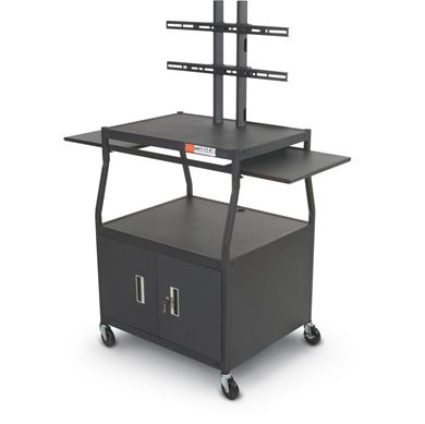 Picture of  Flat Panel TV Cart with Cabinet