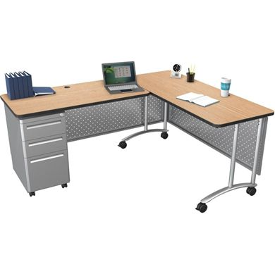 "Picture of  60""W x 24""D Teacher's Desk"