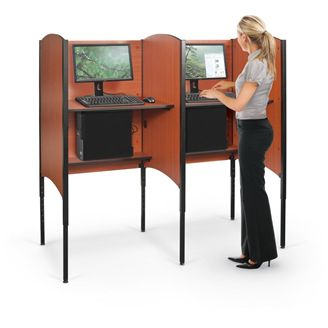 Picture of  Height Adjustable Carrel - Starter