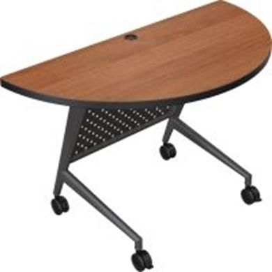 "Picture of 48"" Flip Top Mobile Nesting Training Table"