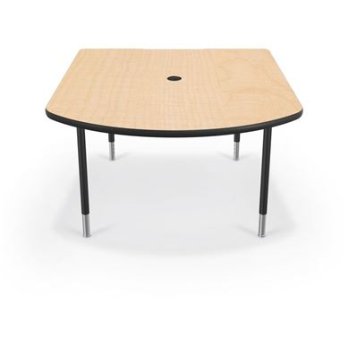 Picture of Small Training & Collaboration Table  (Black Legs)