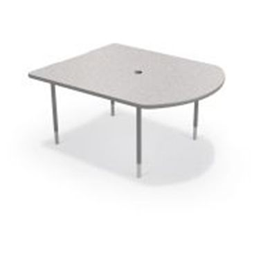 Picture of Small Training & Collaboration Table  (Platinum Legs)