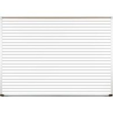Picture of 4'H x 8'W Horizontal Line Graphic Board