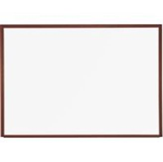 Picture of 2'H x 3'W Magnetic Steel Whiteboard With Wood Trim