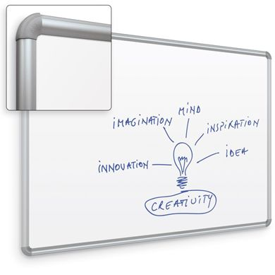Picture of 2'H x 3'W Whiteboard With Presidential Trim