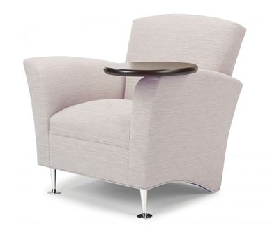 Picture of Reception Lounge Tablet Arm Club Chair