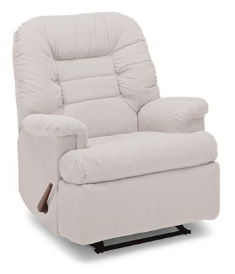Picture of Padded Plush recliner with Handle Lever