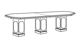 Picture of 10' Octagonal Traditional Conference Table
