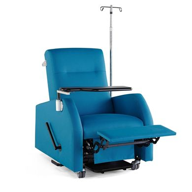 Picture of Healthcare Patient Recliner with IV Pole