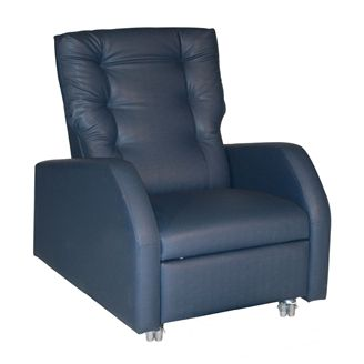 Picture of Healthcare Bariatric Patient Recliner with Pillow Black