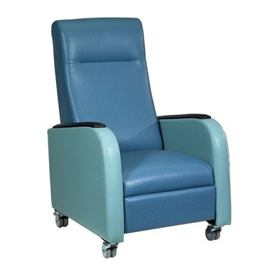 Picture of Healthcare Patient Mobile Recliner with Arm Caps