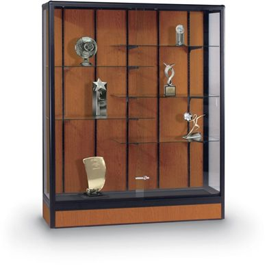 "Picture of 66""H x 60""W x 18""D Freestanding Display Case"