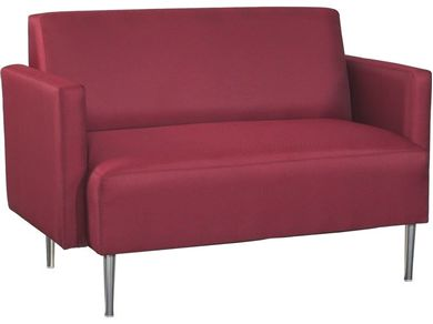 Picture of Contemporary Reception Lounge 2 Seat Loveseat Sofa