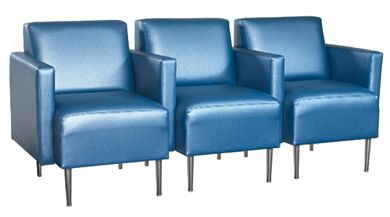 Picture of Contemporary Reception Lounge 3 Seat Modular Sofa