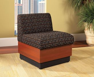 Picture of Contemporary Reception Lounge Armless Club Chair