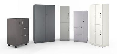 Picture of Metal Locker, Wardrobe and Filing Storage Center