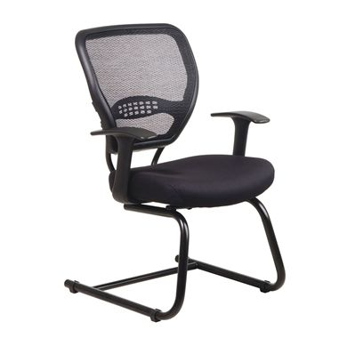 Picture of Ergonomic Mesh Back Sled Base Guest Chair