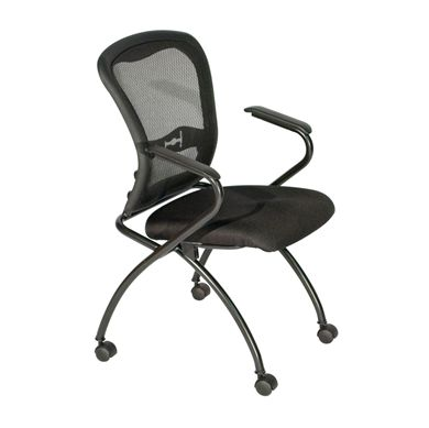 Picture of Ergonomic Mesh Mobile Nesting Training Chair