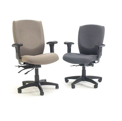 Picture of Set of Executive and Managerial Office Swivel Multi Function Task Chairs