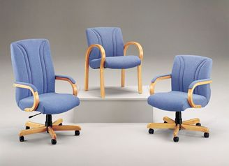 Picture of 3 Chair Set, High Back - Mid Back and Guest Chair Conference Seating