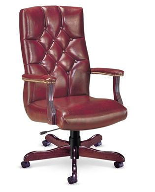 Picture of High Back Traditional Tufted Conference Chair