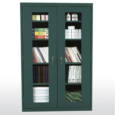 Picture of 2-Door Clear View Storage Cabinet
