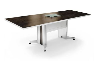 Picture of 10' Rectangular Contemporary Conference Table with Power Access
