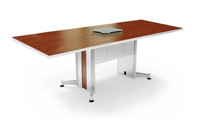 Picture of 12' Rectangular Contemporary Conference Table with Power Access