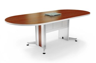 Picture of 12' Racetrack Contemporary Conference Table with Power Access
