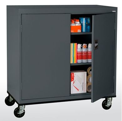 Picture of Work Height Transport Storage With Adjustable Shelves