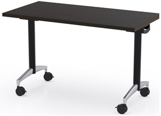 """Picture of 48"""" Flip Top Mobile Training Table"""
