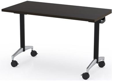 "Picture of 48"" Flip Top Mobile Training Table"
