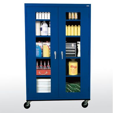 Picture of Clear View Transport Mobile Cabinet