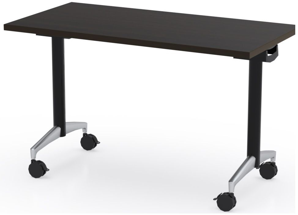 The Office Leader 54 Flip Top Mobile Training Table