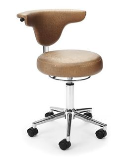 Picture of Armless Anatomy Swivel Chair