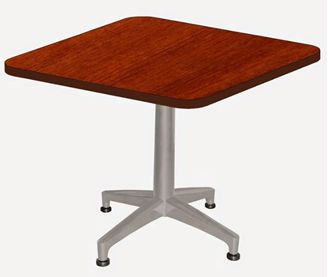 """Picture of 24"""" Square Heavy Duty Cafe Table"""