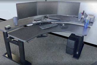 Picture of 2 Level Powered Height Adjustable Office Table