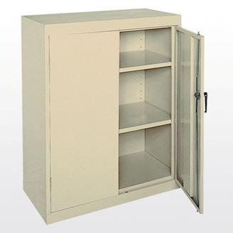 "Picture of 42"" Easy Snap-Together Counter Height Cabinet"