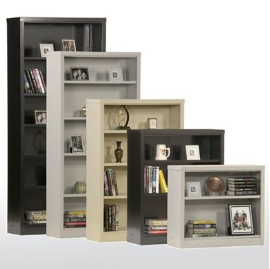 """Picture of 42""""Easy Snap-together Bookcase With Adjustable Shelves"""