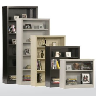 "Picture of 84"" Easy Snap-together Bookcase With Adjustable Shelves"