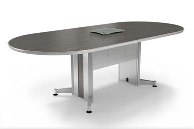Picture of 10' Racetrack Conference Table with Power Access