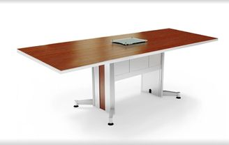 Picture of 10' Rectangular Conference Table with Power Access