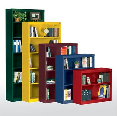 Picture of  Welded Steel Bookcases