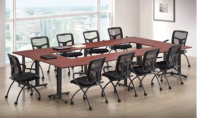Picture of Training Room Set with Nesting Training Chairs